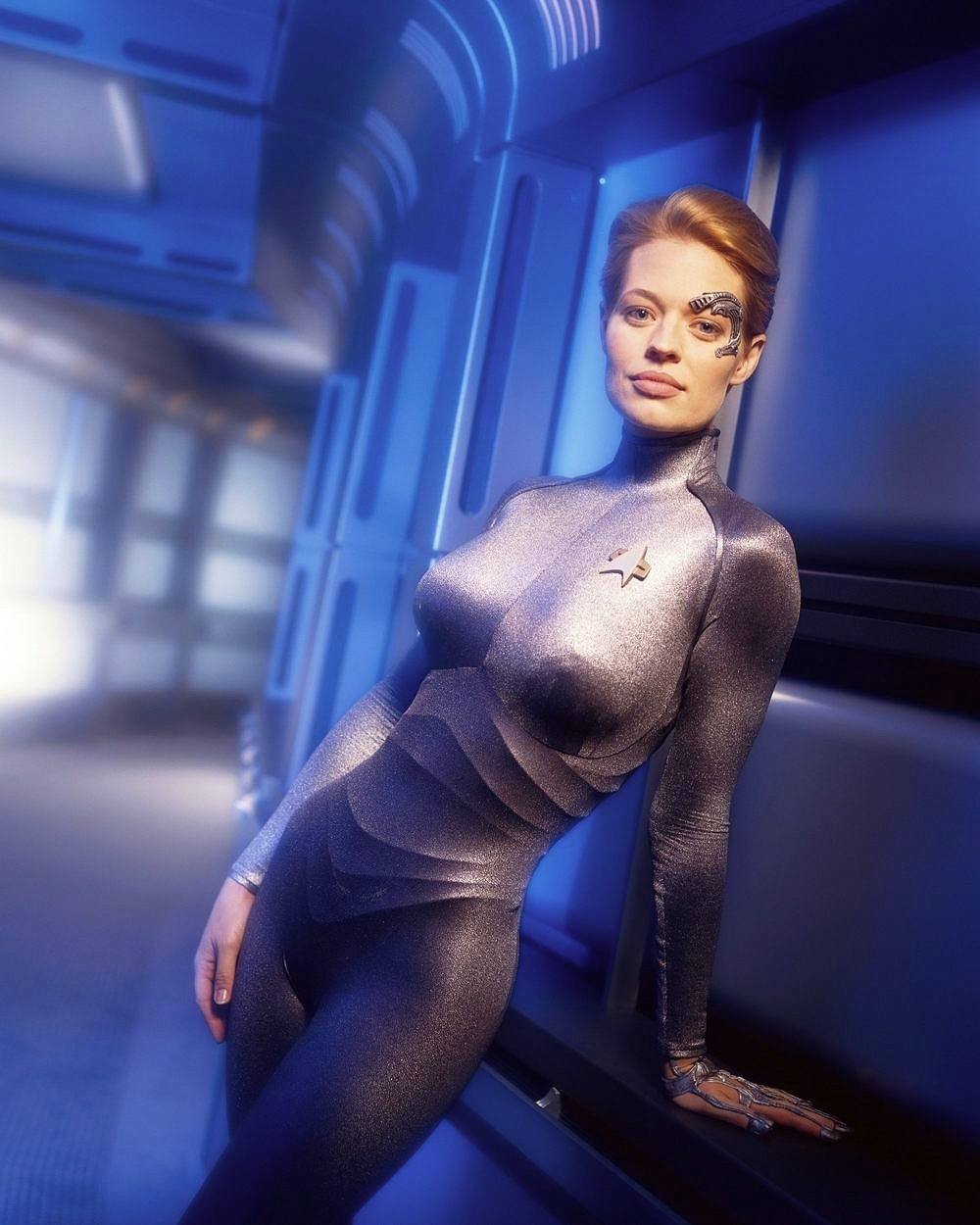 Young jeri ryan sexy images