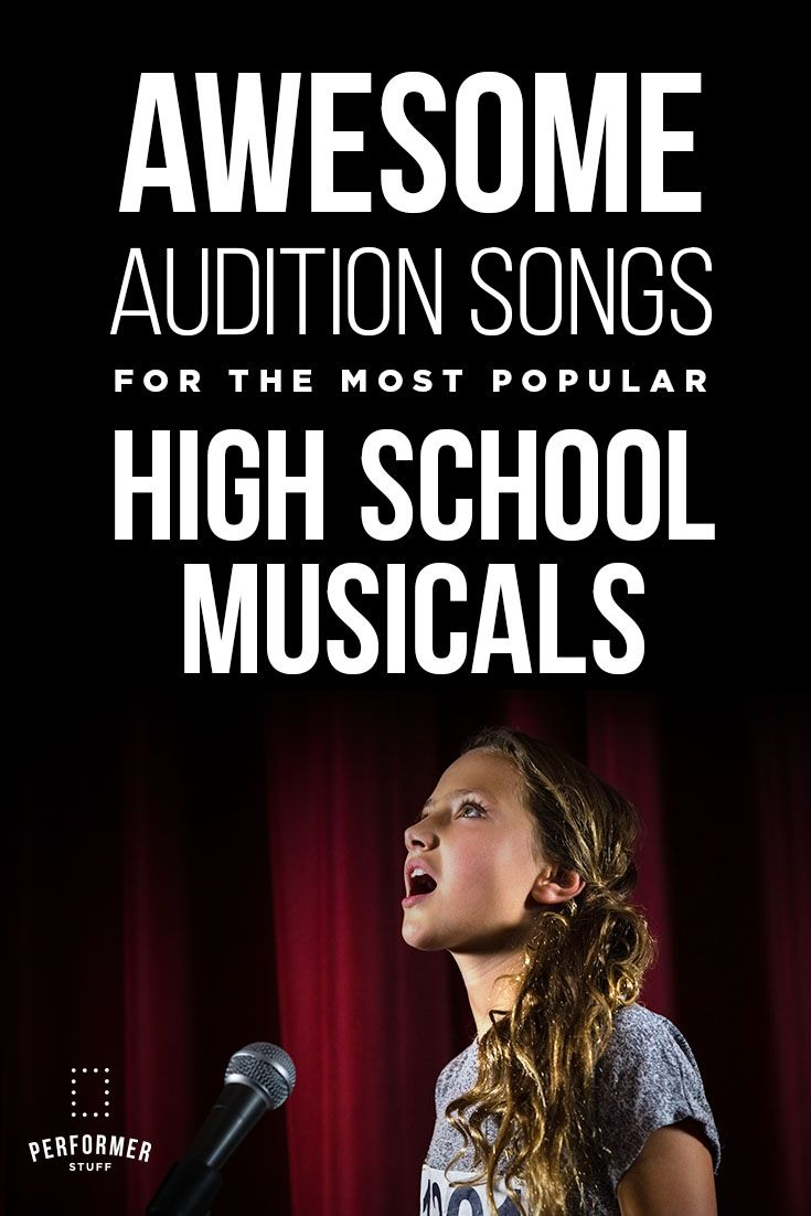 Most popular musical theatre songs