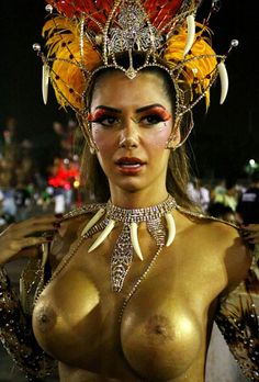 Topless france and carnaval rio