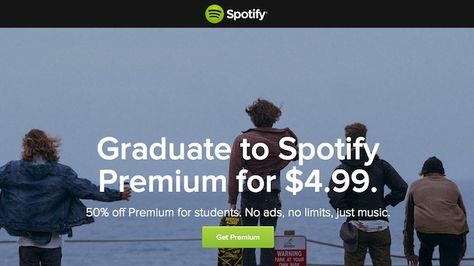 Spotify student deal