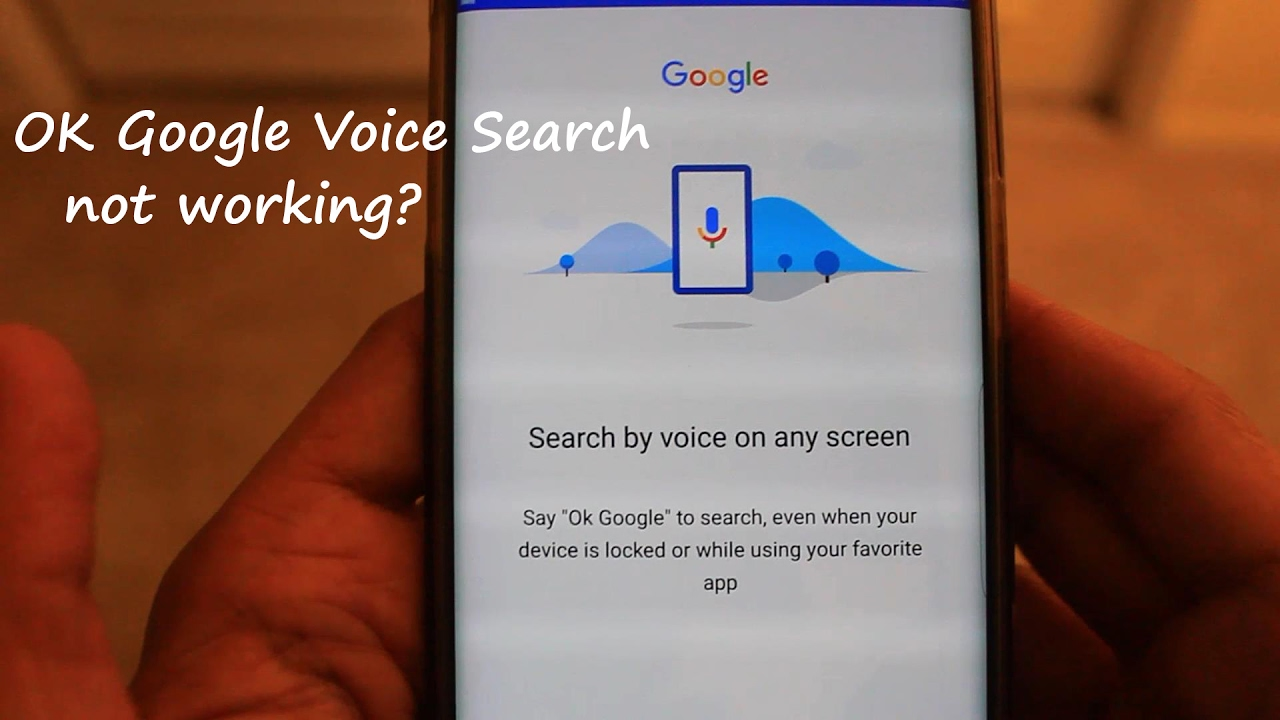 How to reset voice recognition