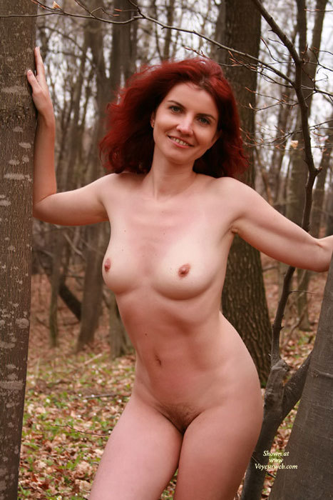 Red naked boobs