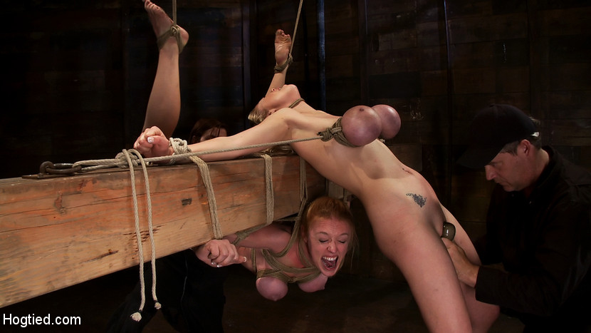 Women hung by their tits